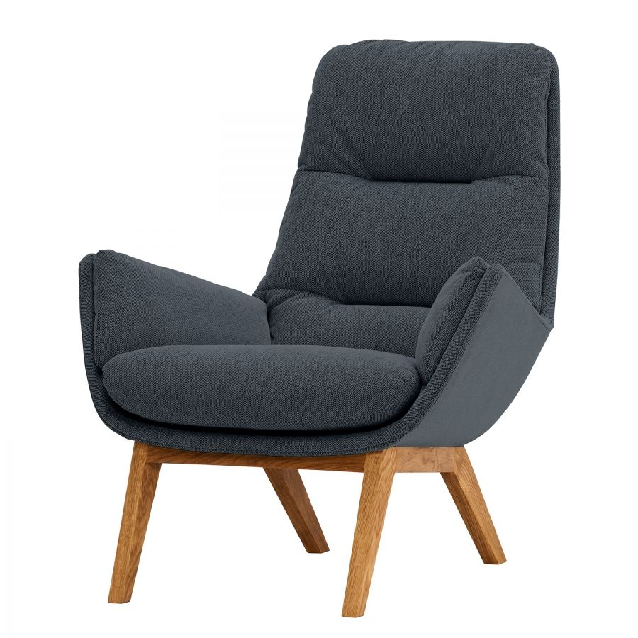 Sessel Garbo I Webstoff Armchair Chair Furniture