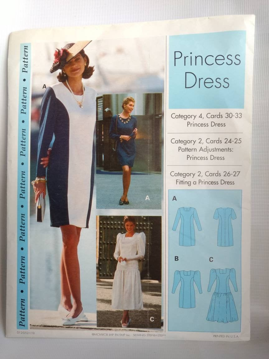 Vintage Sewing Pattern Princess Dress by AllTheRageVintageCA on Etsy Sewing Techniques It is a fact that knowing how to sew saves lives in many cases Besides with differe...
