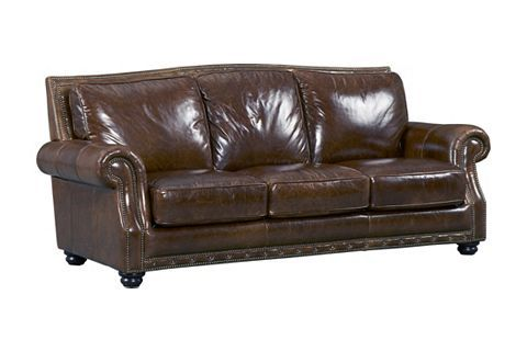Cagney Leather Sofa Southern Motion Cagney 2 Piece