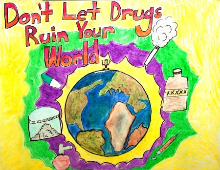 anti drug poster contest winners - Google Search | DRUG ...