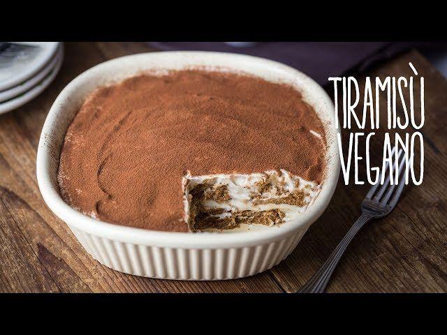 Tiramisu Vegan Ricetta Giallo Zafferano.Tiramisu Vegano Senza Uova Video Ricetta Vegolosi It Ricetta Ricette Ricette Vegane Ricette Vegane Sane