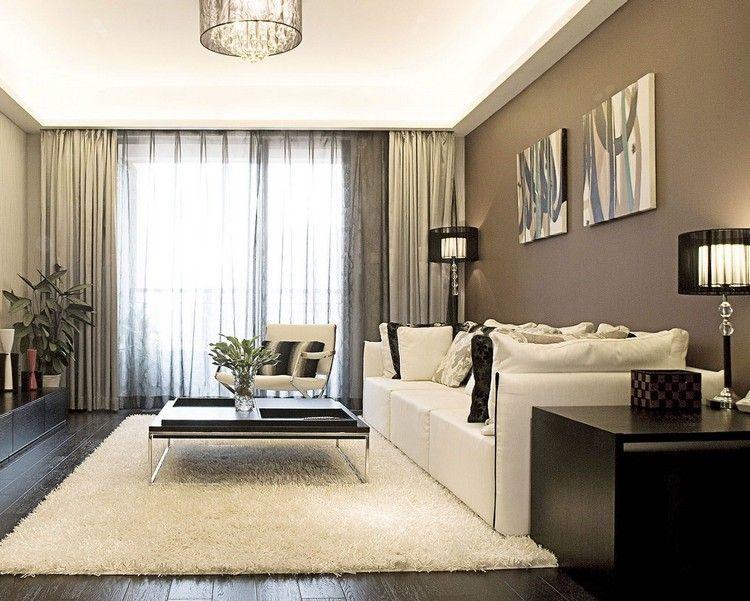 GroBartig Wohnzimmer In Braun Und Beige Einrichten 55 Wohnideen