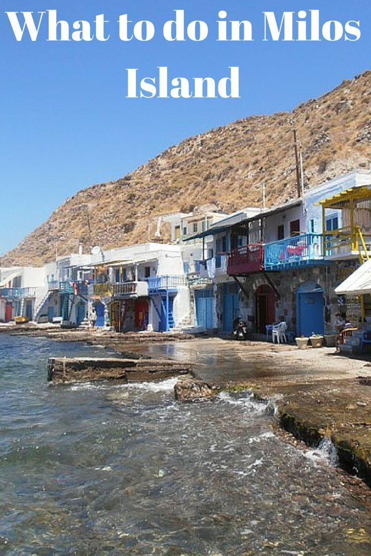 Top things to do in Milos Island!
