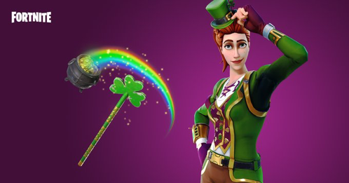 St Patrick Day Skin | FORTNITE in 2019 | Video game art, Epic games