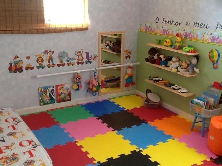 Resultado de imagem para quarto montessoriano bebe 4 meses quarto montessoriano pinterest - Juegos de decorar habitaciones grandes ...