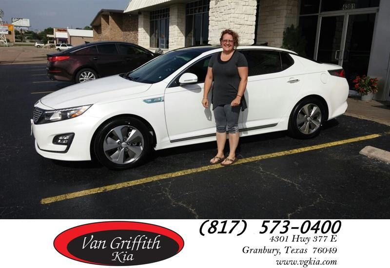 HappyBirthday to Rhonda from Jay Simons at Van Griffith