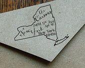 Custom Handwritten State Address Stamp, Custom Address Stamp Self-inking Return Stamp, RSVP Stamp, Wedding Stamp