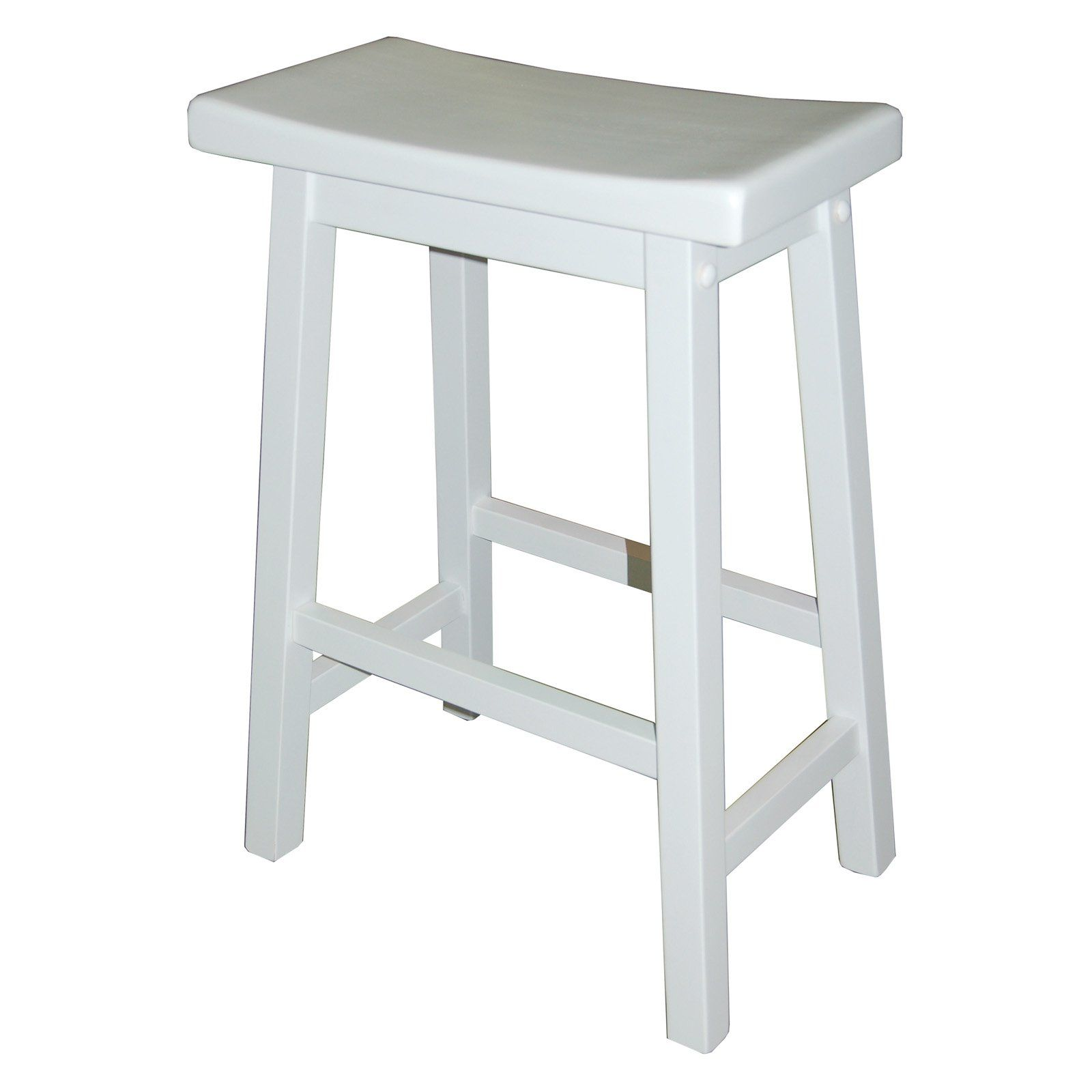 TMS 24 in. Arizona Saddle Counter Stool - Ensure your kitchen counter is outfitted with comfortable seats thanks to the TMS 24 in. Arizona Saddle Counter Stool. This counter-height stool is su...