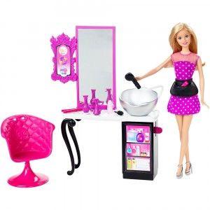 Barbie Malibu Ave Style Salon From Mattel Barbie Doll Set Barbie Salon Barbie