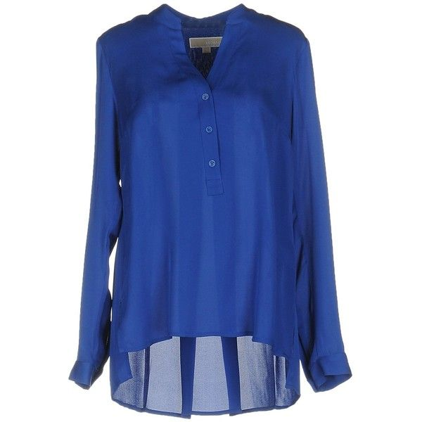 1e69aa7b4a961 Michael Michael Kors Blouse (364.360 COP) ❤ liked on Polyvore featuring tops