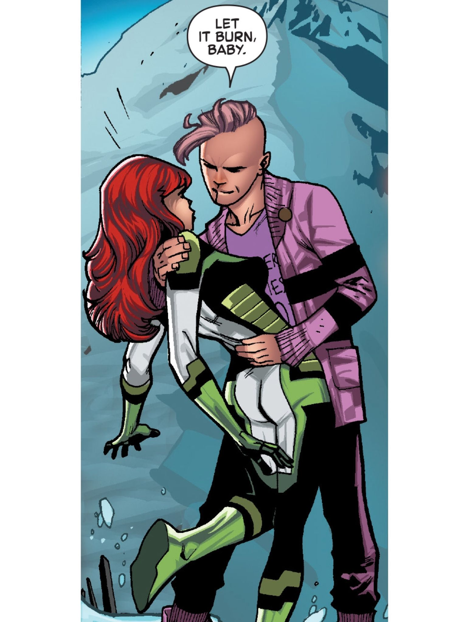 Jean Grey And Quentin Quire X Men Comic Illustration Marvel Dc Comics X Men