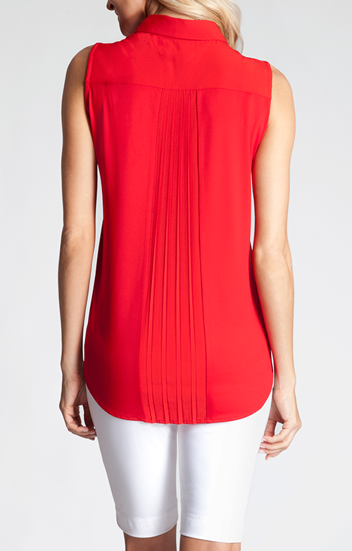 How cute are the subtle pleats on the back of the Roison Top?! #. Golf  ApparelLady In RedRed ...