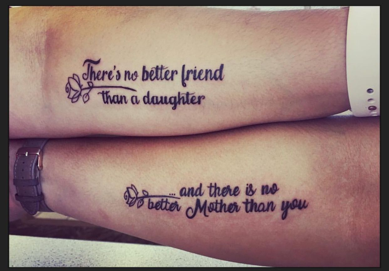 Mother/Daughter Tattoo | Tattoos for daughters, Mother ...