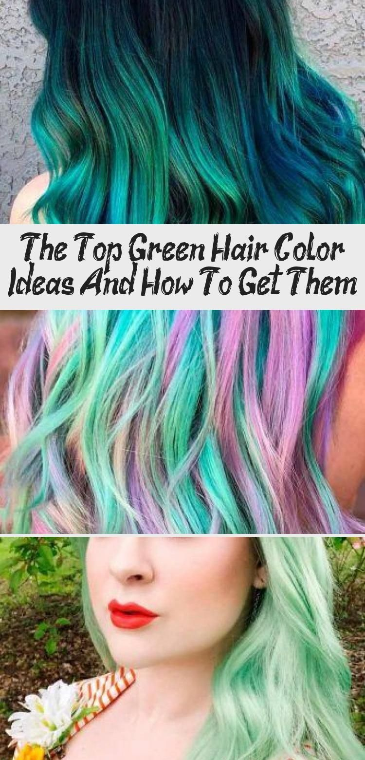 Mint Green Hair Shades colorfulhair minthair ★ Looking