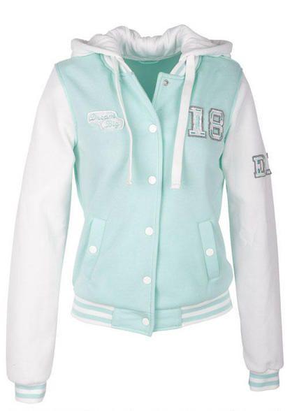 Dream Big Varsity Jacket - View All Coats - Coats - dELiA s   Lala s ... 5ea1a46dadf