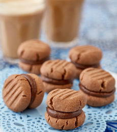 Photo of Recipe for Chocolate melting moment Biscuits