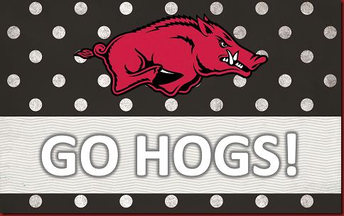 Go Hogs! Arkansas razorbacks, Razorbacks, Arkansas