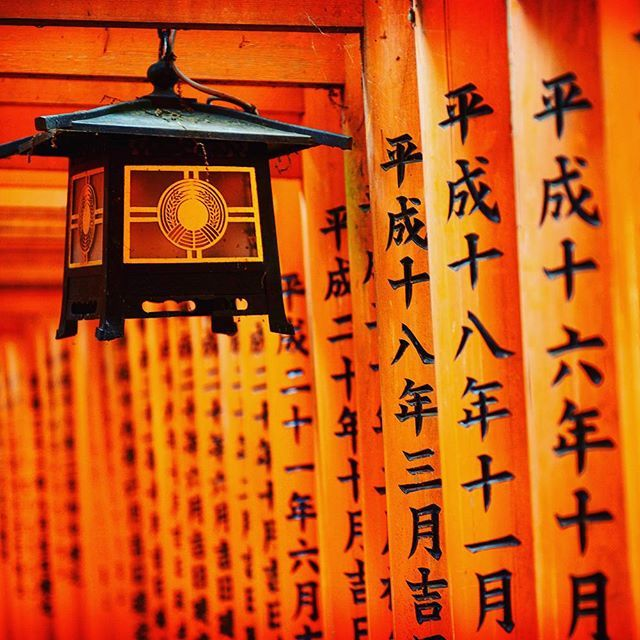 Japanese style orange energy. Fushimi Inari Taisha on Kioton mystisin pyhättö. #kyoto #Japan #shrine #travel #trip #kioto #japani #shintopyhäkkö #temppeli #matka #kaupunkiloma #matkablogi