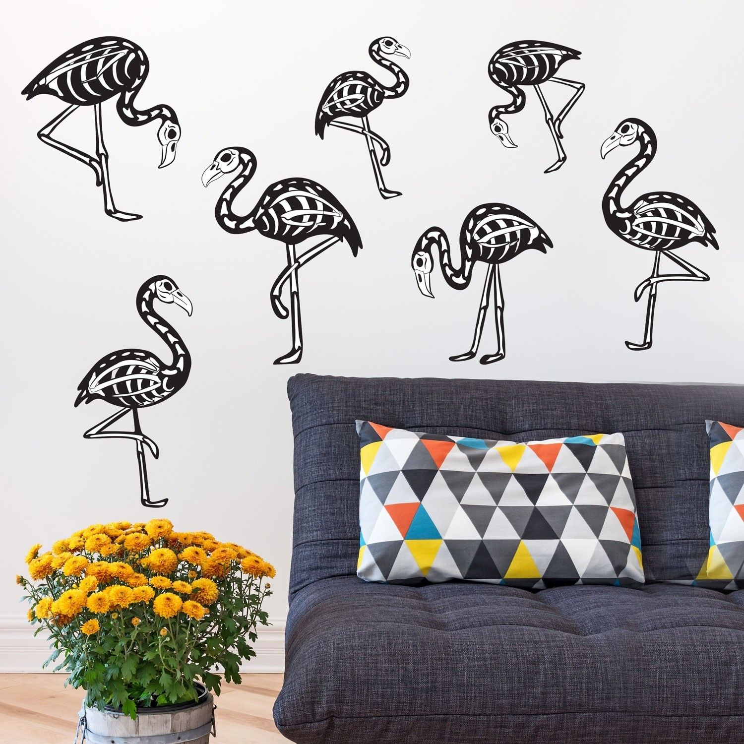 Pin by Marina Maguire on Halloween Wall decals, Flamingo