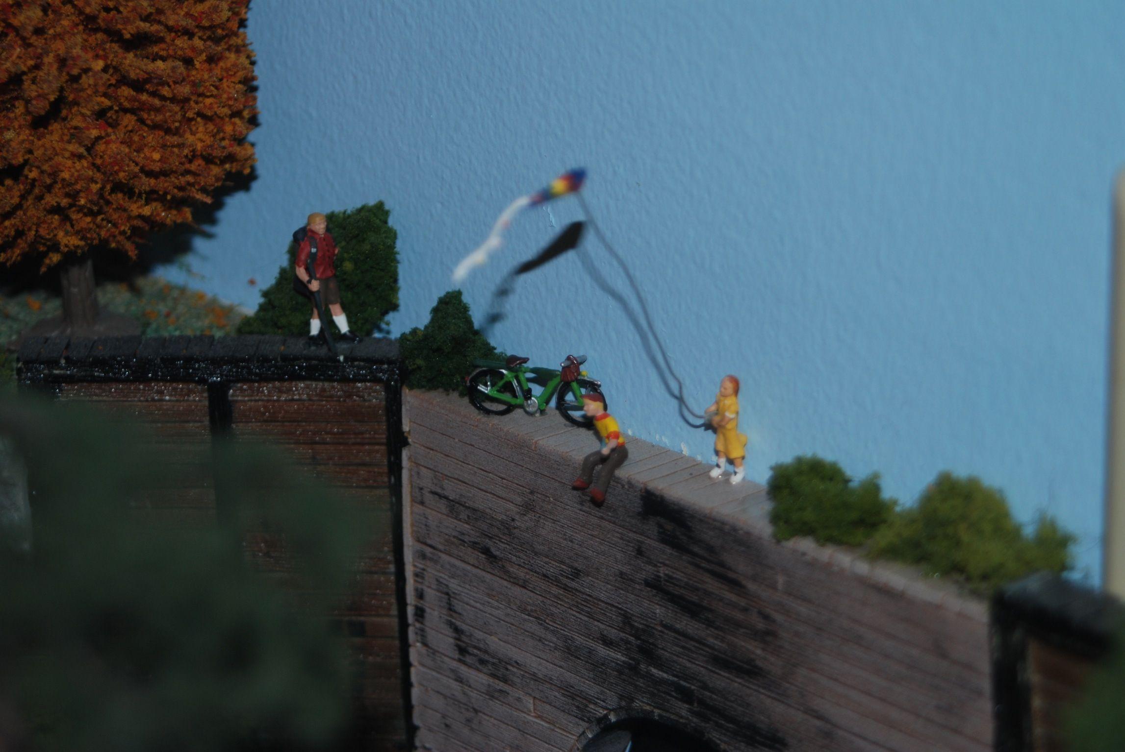 Her kite is doing good :)