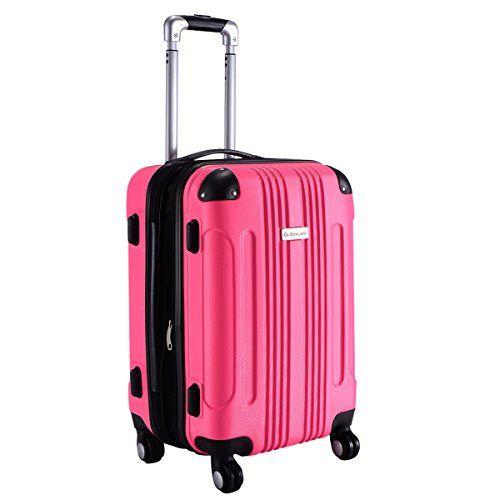 Travel Luggage 20 ABS Expandable Trolley Suitcase New Carry on Bag ...