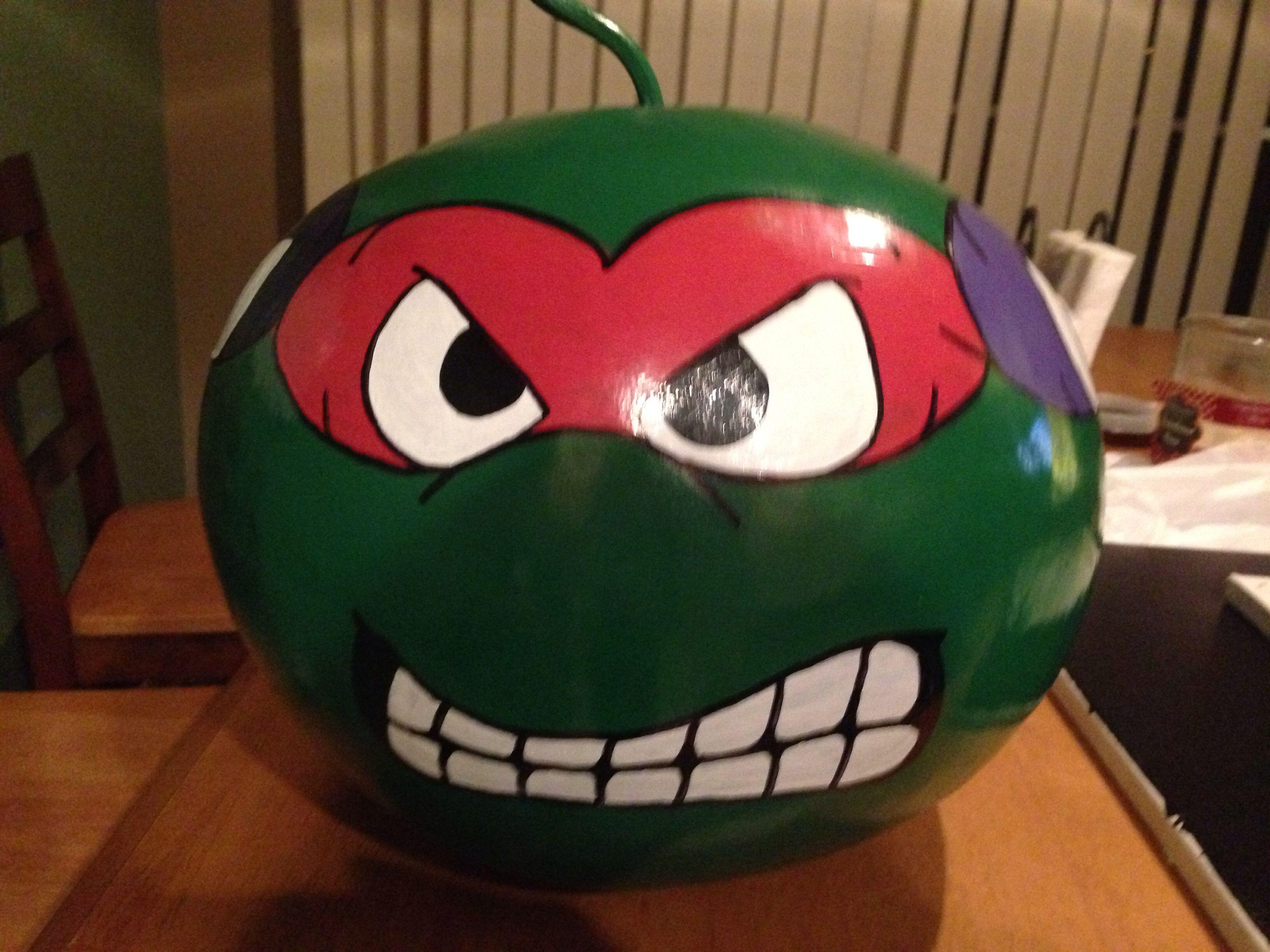 Ninja turtle gourd- Rafael