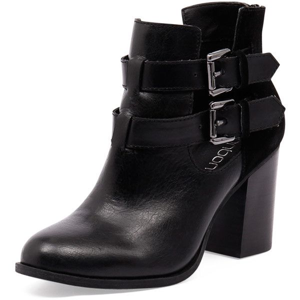 Womens Leather Boots Black Bonbons Jedi