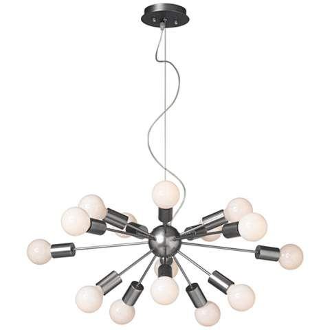 Possini Euro Hemingson 37w Globe Bulb Pendant Light