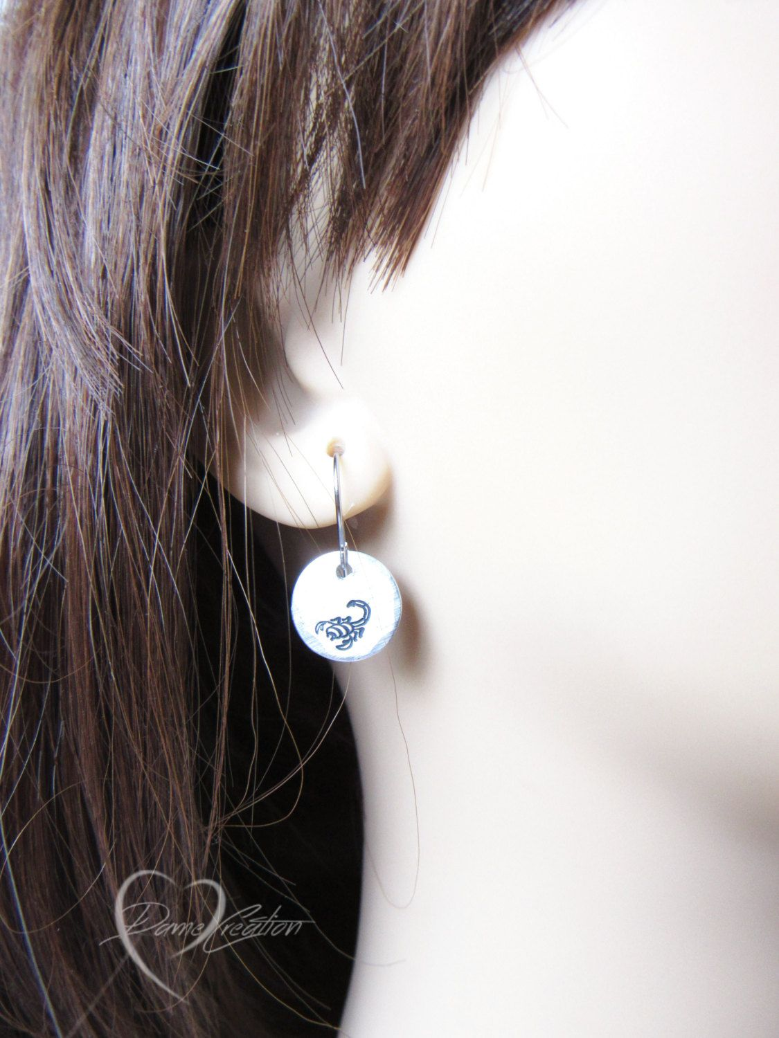thelondonearringcompany earrings original hanging circle london disc silver sterling the everyday by product