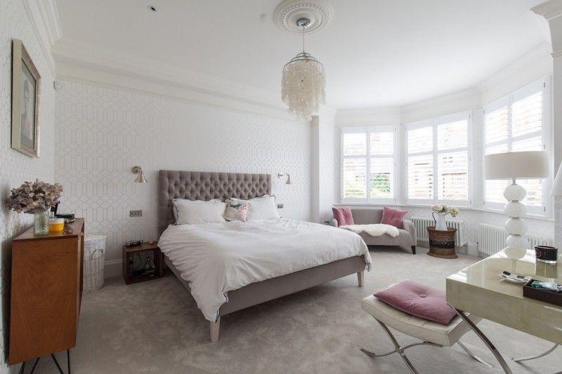 transitional bedroom idea modern Dillard\'s bedroom frame with higher ...