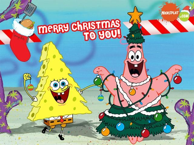 Spongebob Christmas Tree   Spongebob   Pinterest   Spongebob ...