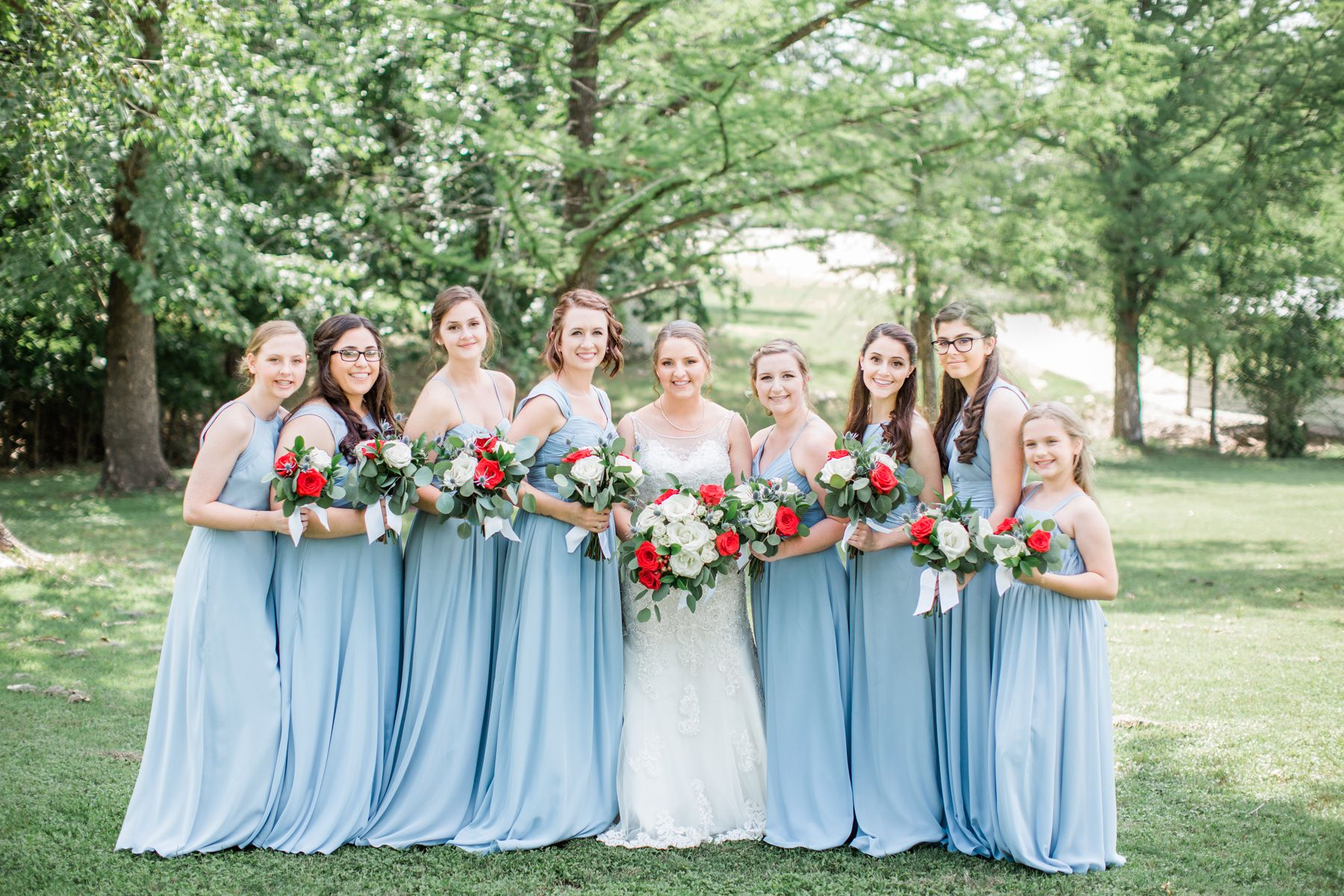 5ab1ae22823 Red White and Blue Summer Wedding - Elizabeth Anne Designs  The Wedding Blog