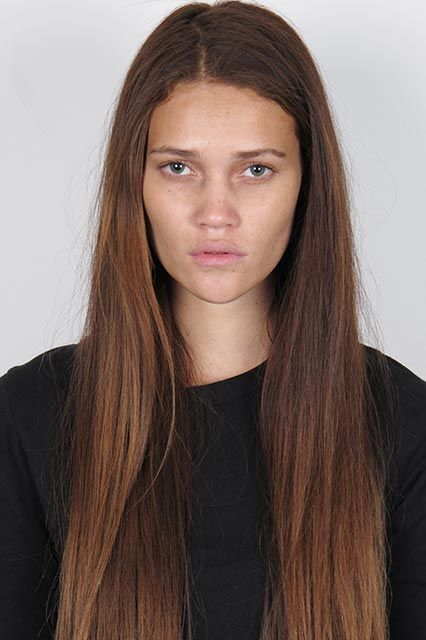 Model Makeovers You Need To See To Believe Dark Hair Light Eyes Golden Brown Hair Color Model Hair