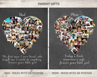 St anniversary anniversary photo collage by yourlifemydesign