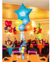 Balloon Jumbo Shaped Centerpieces In Charlotte NC And Party Service