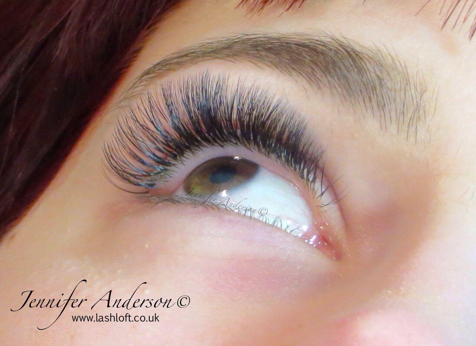 Russian Volume Lashes Semi Permanent Eyelash Extensions | Lashes ...