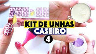 Kim Rosacuca Kit De Unha Youtube Diy Pinterest Diy Youtube