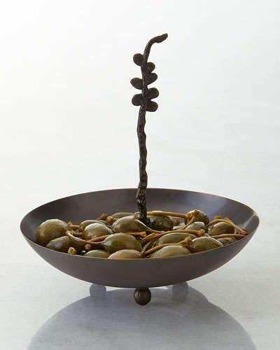 Aço inoxidável H7ET2 Aboda Olive Bacia