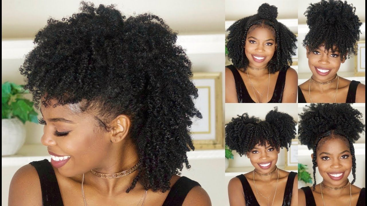 6 Easy Back To School Hairstyles For Natural Hair [Video | School ...