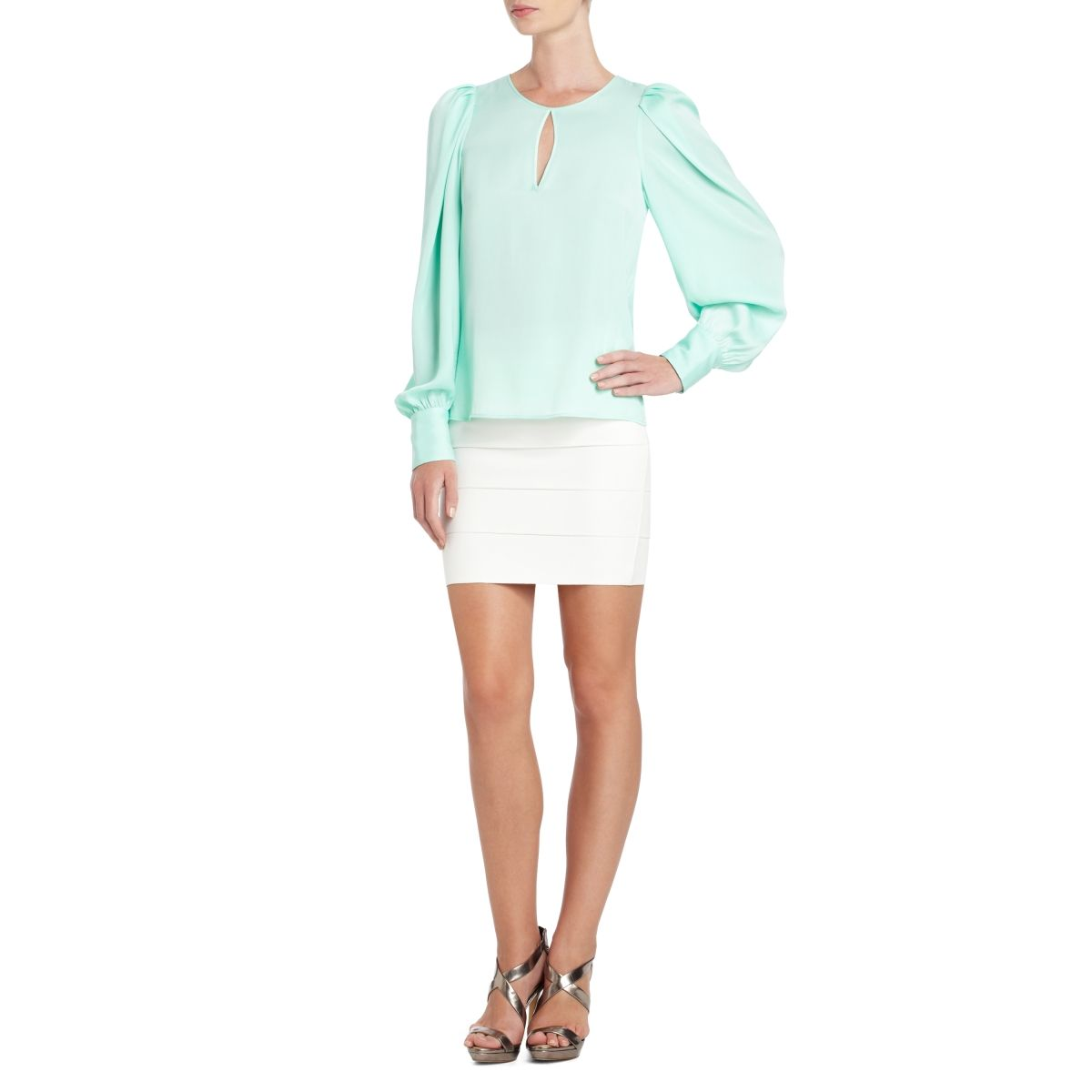 BCBGMAXAZRIA - SHOP BY CATEGORY  TOPS  tops VIEW ALL  SHINA TOP- xs ... 56473494b