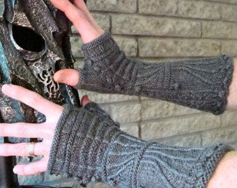 Items similar to Victorian Gauntlets Knitting Pattern on Etsy