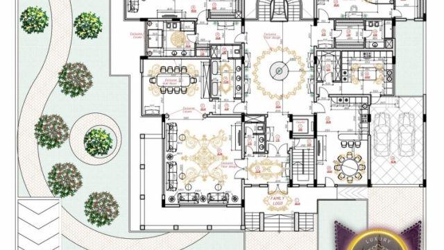 Luxury House Plan Villa 8 Luxury House Plans House Plans Luxury House Designs