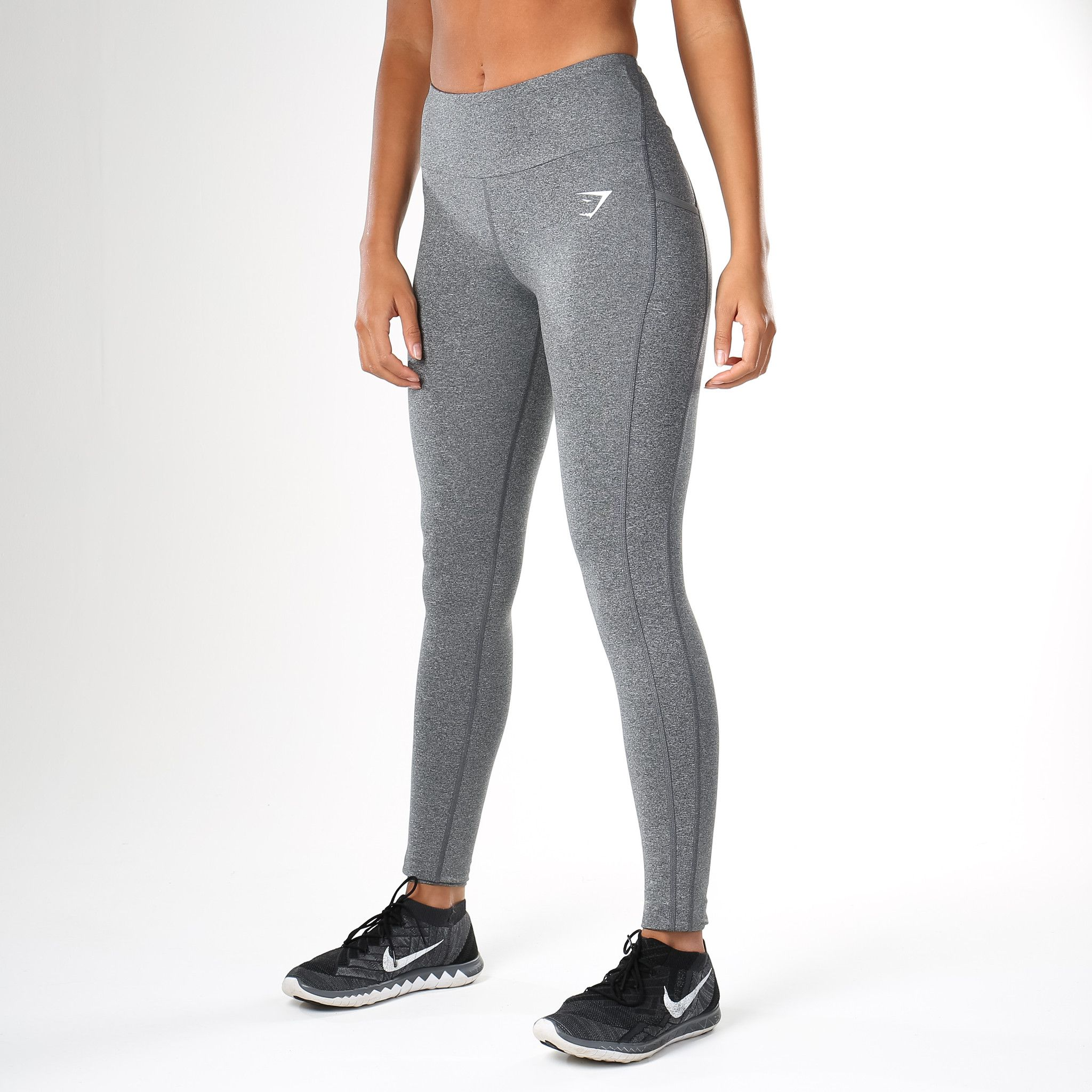87408a7cc0 Gymshark DRY Sculpture Leggings - Charcoal Marl | ATHLETIC FASHION ...
