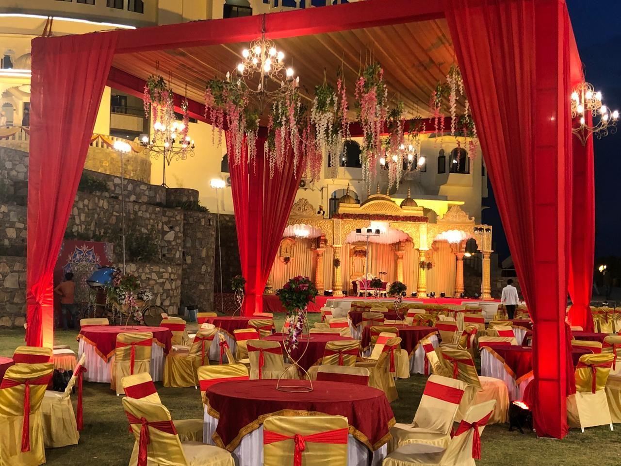 Royal wedding conducted at Bhairavgarh resort by Zennia