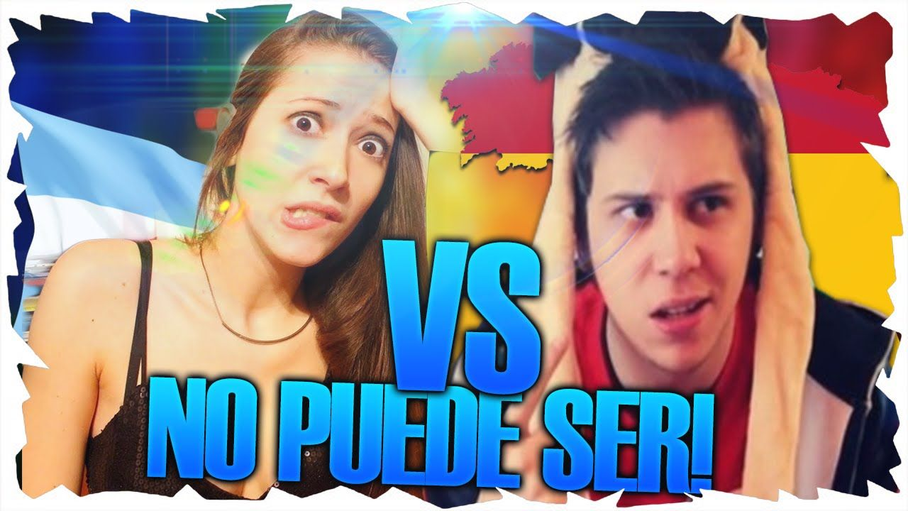 YOUTUBE ESPAÑA VS YOUTUBE ARGENTINA NO PUEDE SER