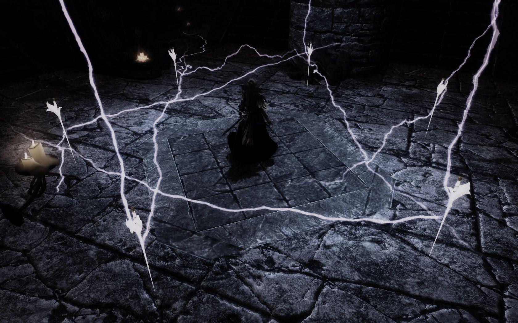 skyrim an pinterest skyrim summoning and lightning