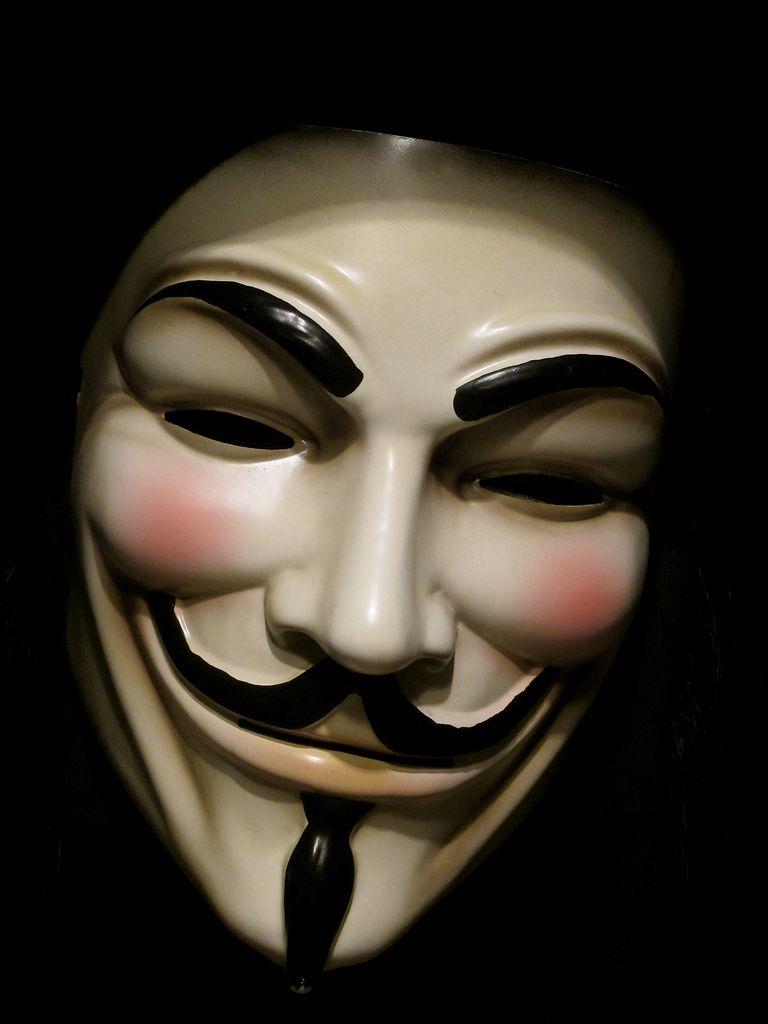 We Are Legion V For Vendetta V For Vendetta Mask Halloween Masquerade