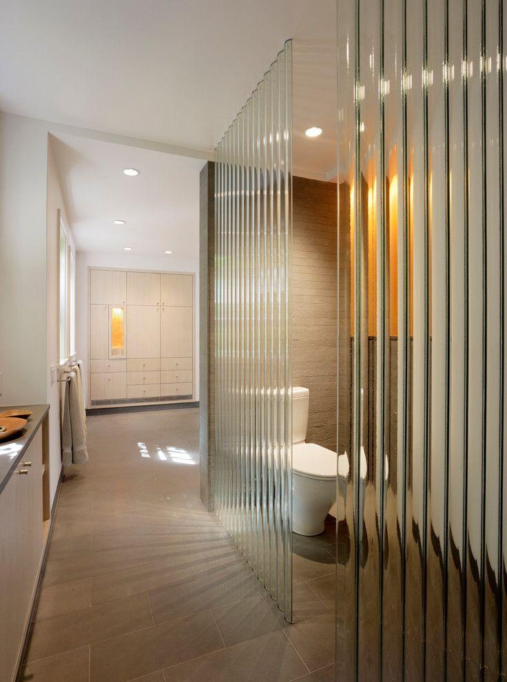 frosted glass wall panels bathroom modern designing tips with corrugated glass corrugated glass slan