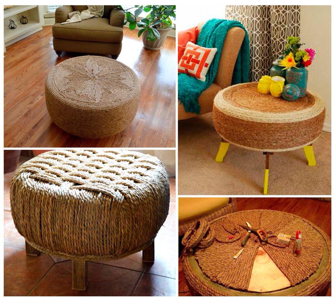 Mesitas | Reciclaje | Pinterest | Reciclaje, Mesas y Decoración