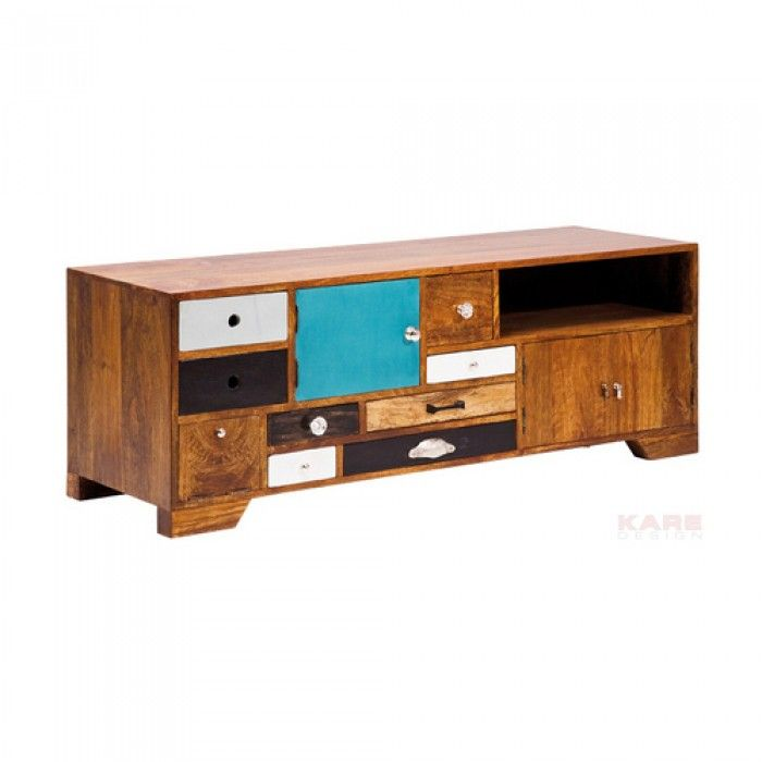 Multi Colour Wooden Tv Stand Wooden Tv Stands Furniture Home